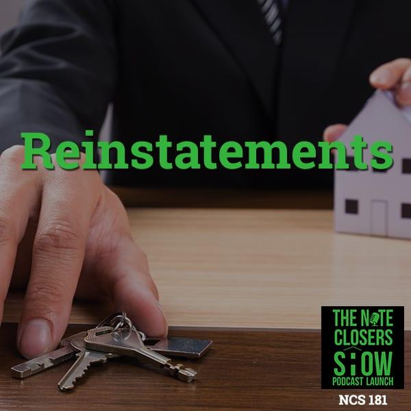 NCS 181   Reinstatements