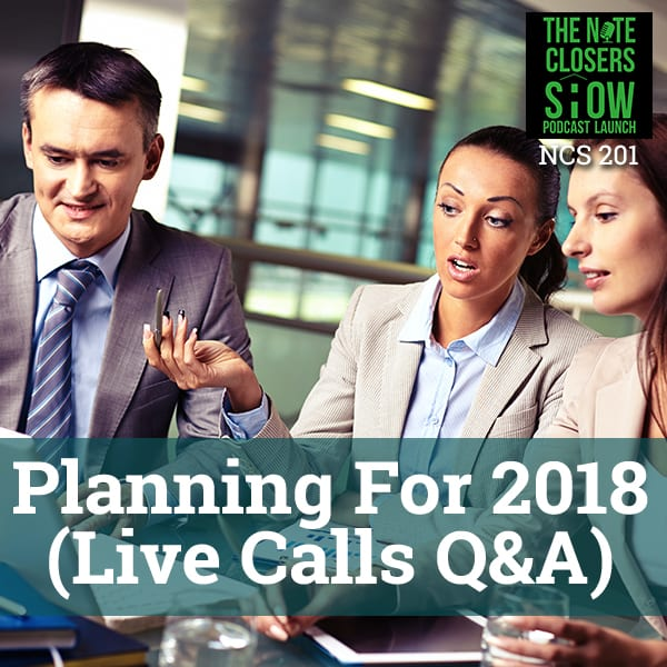 NCS 201 | Planning For 2018