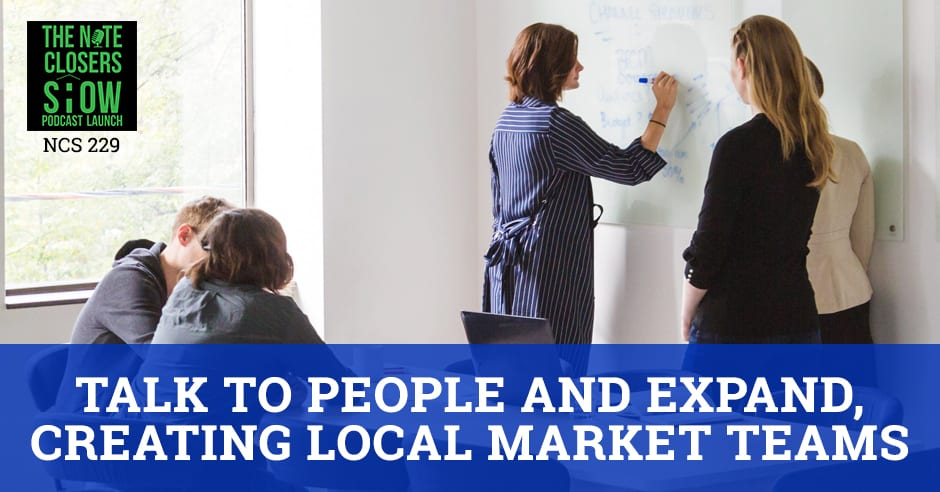 NCS 229 | Creating Local Market Teams