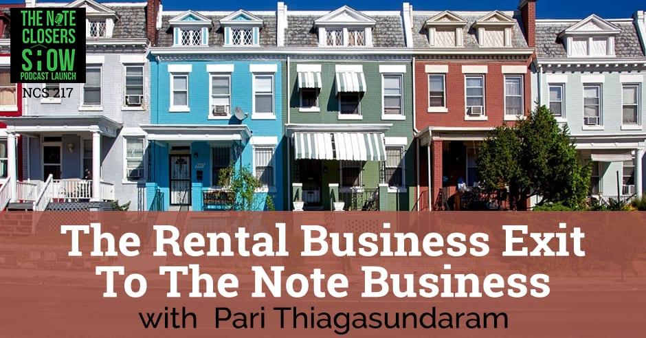 NCS 217 | Rental Business Exit