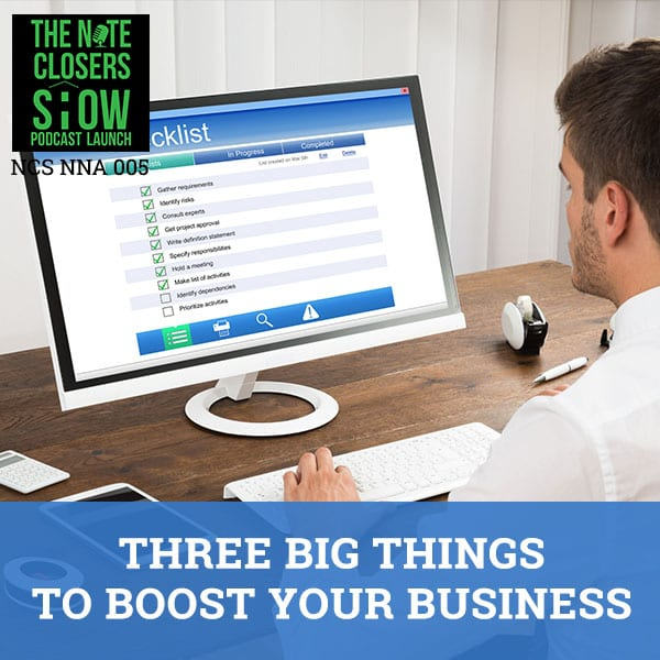 NCS NNA 5   Three Big Things
