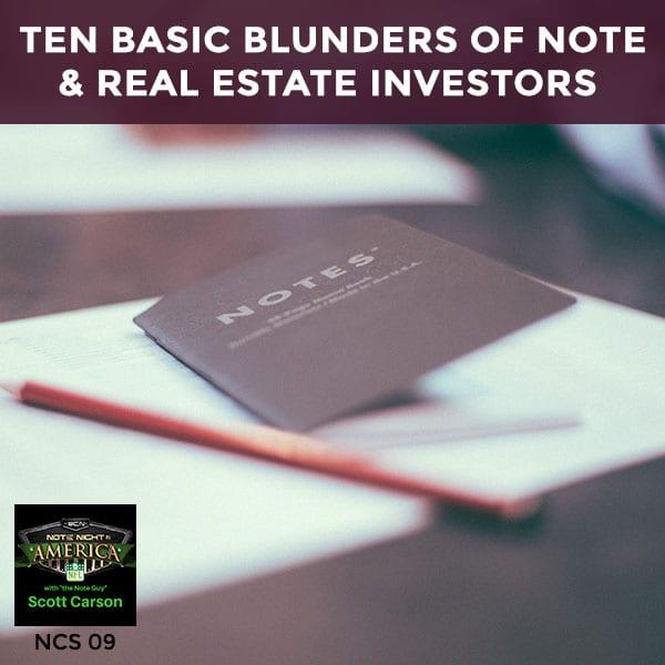 NNA 9 | Ten Basic Blunders