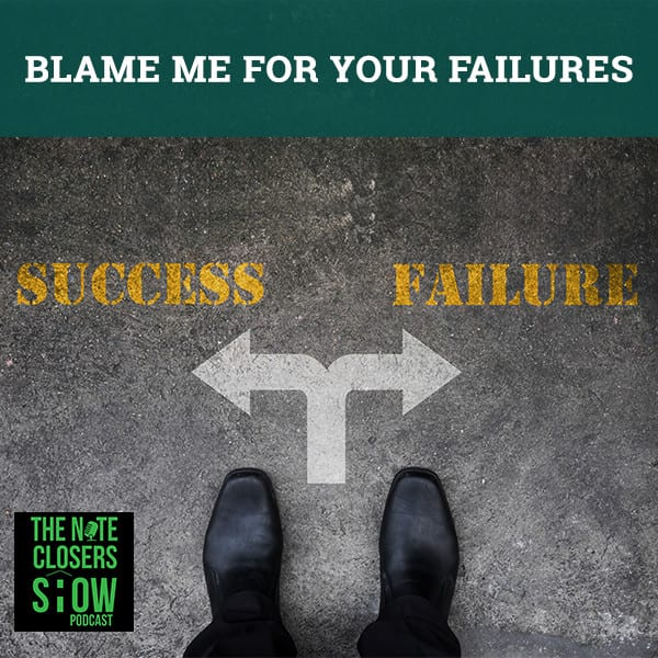 NCS 293 | Take Blame For Your Failures