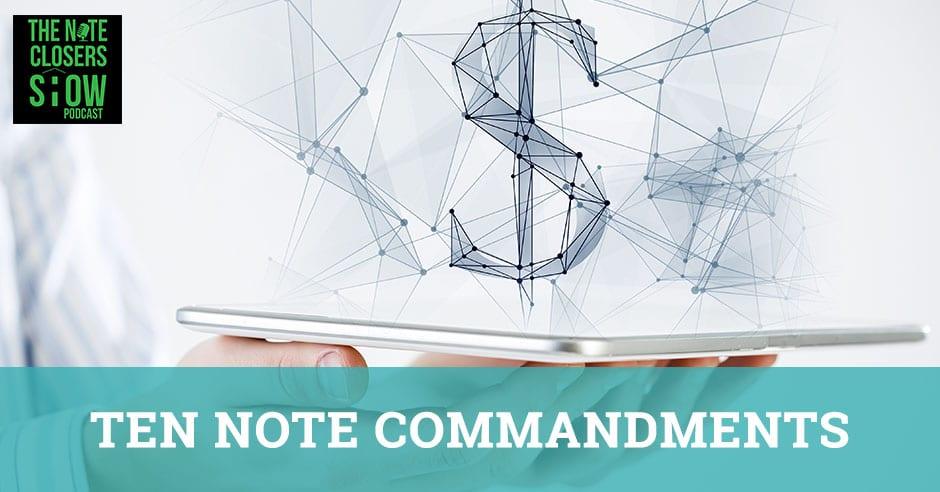 NCS 307 | Ten Note Commandments