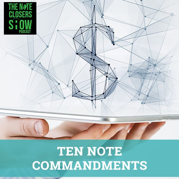 NCS 307 | Ten Note Commandments