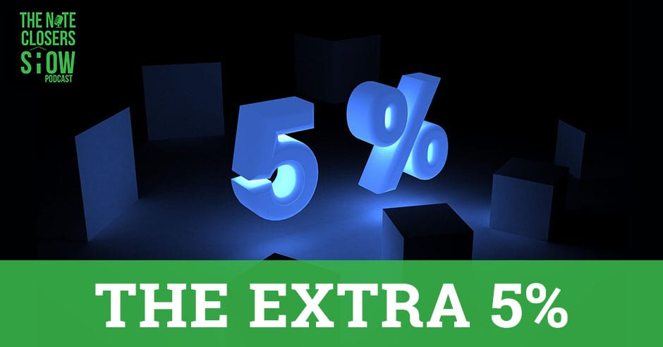NCS 320 | The Extra 5%
