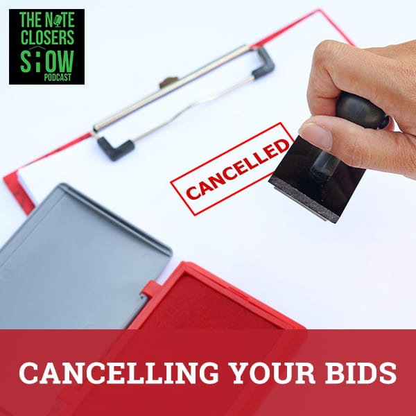 NCS 412 | Cancelling Bids