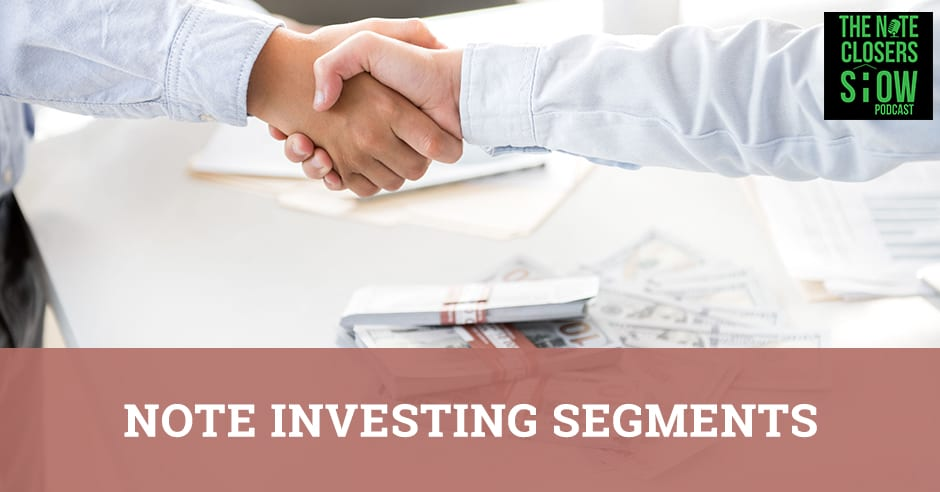 NCS 426   Note Investing Segments