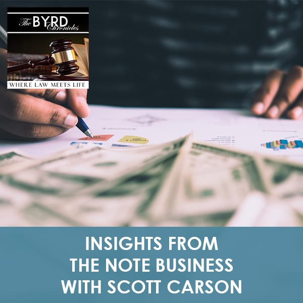 Scott Carson featured on The BYRD Chronicles
