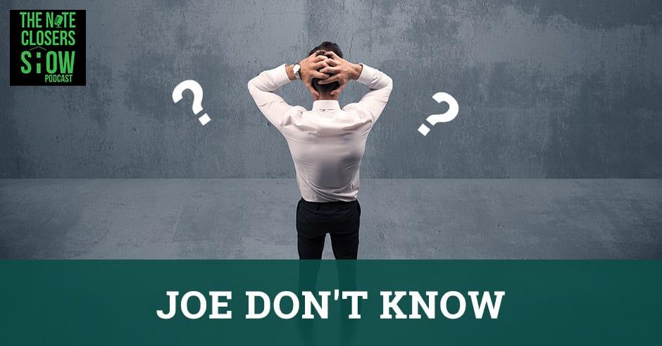 NCS 433 | Joe Don't Know