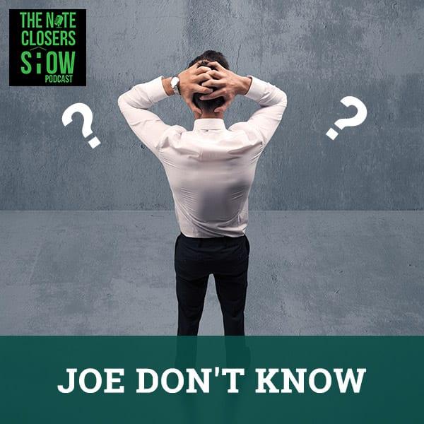 NCS 433   Joe Don't Know