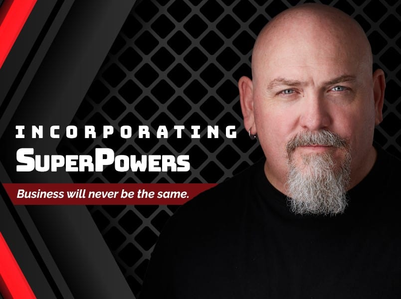 Scott talks business with Justin Recla in Incorporating Super Powers Podcast