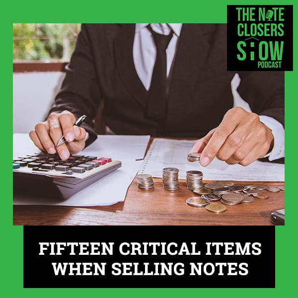 NCS 536 | Selling Notes