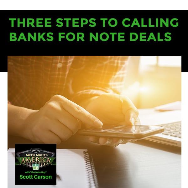 NNA 73 | Contacting Banks